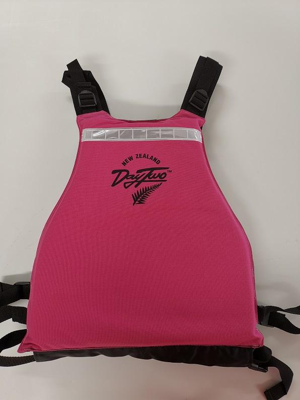 Kiwitea vest back