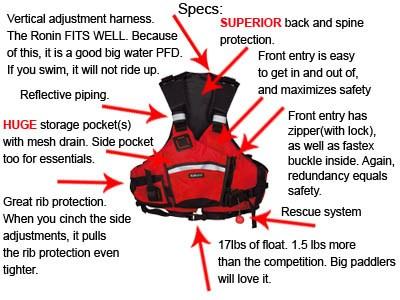 Kokatat ronin pro rescue vest