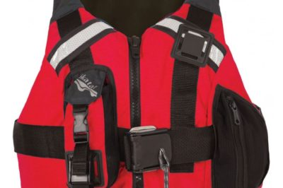 kokatat guide vest front red