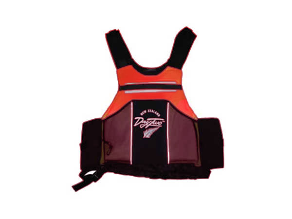 Adventure racer vest orange